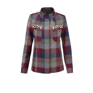 Cabi collage jacket m nwot